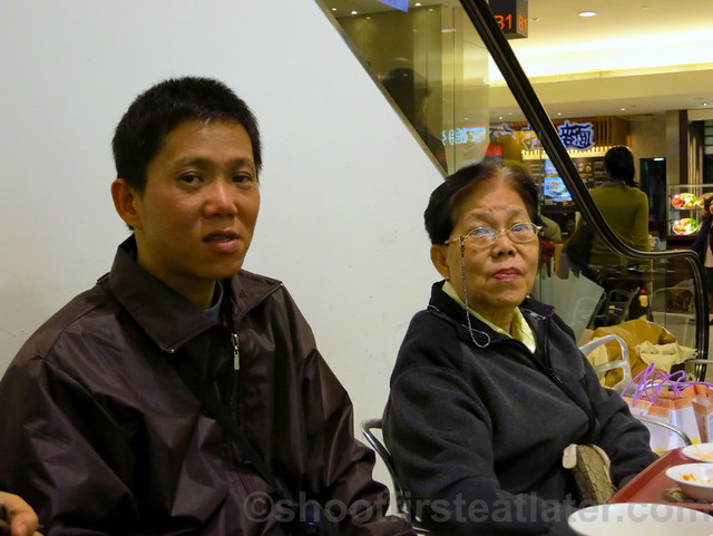 my family in Taipei 101