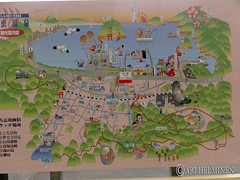Map of asamushi 浅虫