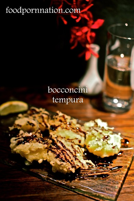 bocconcini tempura