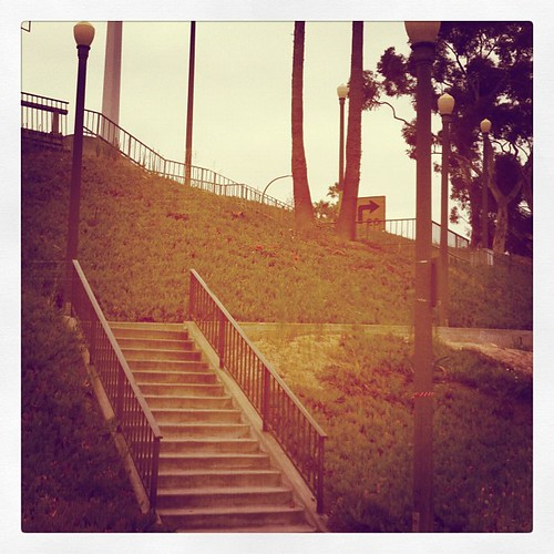 Stair workout done. Now ihop, Hollywood and Venice beach #busy