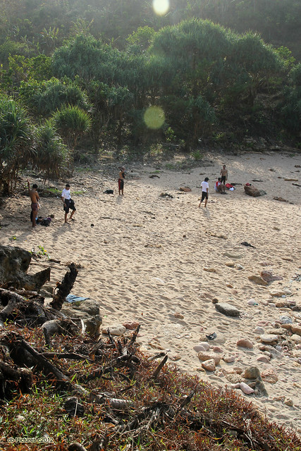 White Sand in Timang