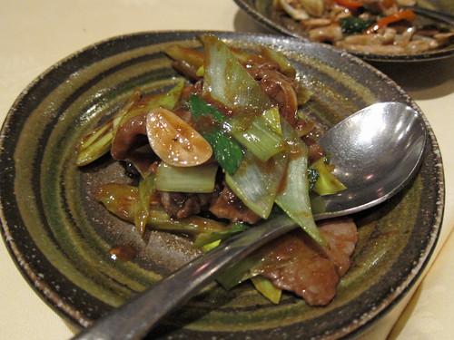 Beef in Sha-Cha