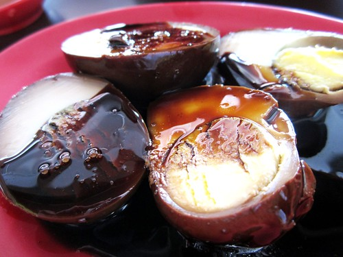 Chopsticks stewed eggs