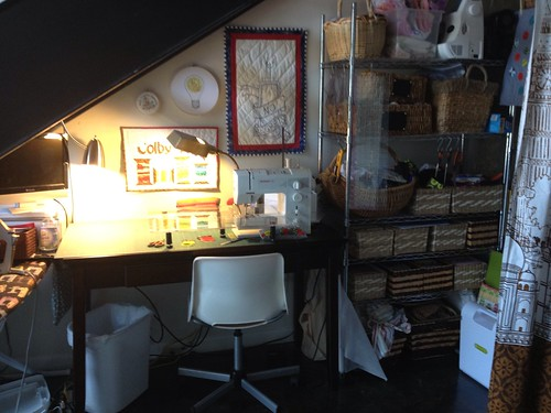 New Sewing Space