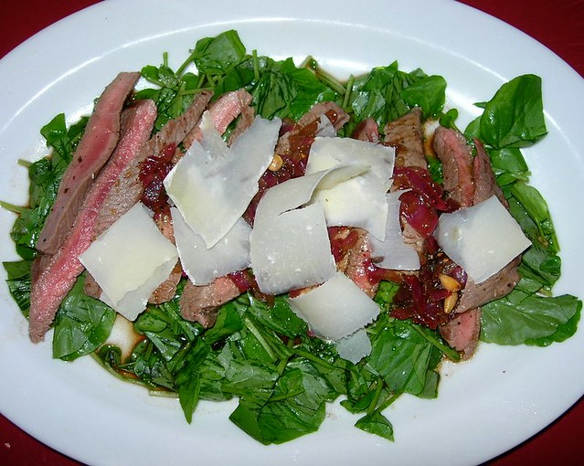 Steak & Watercress Salad