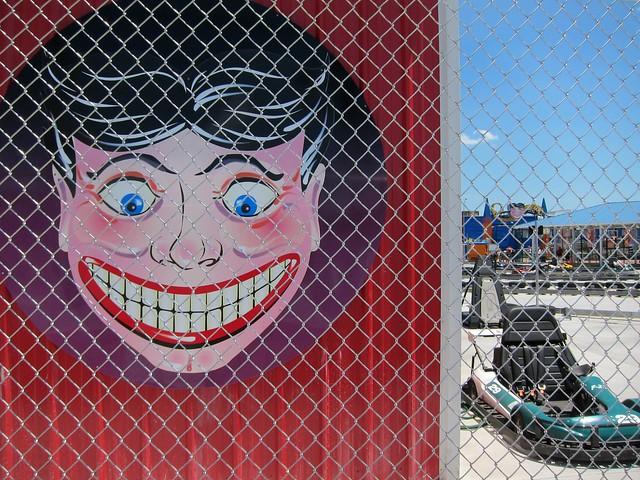Smiling Man on lockdown