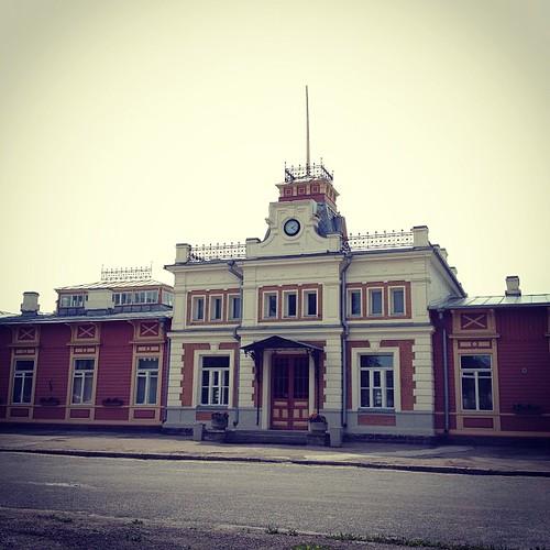 Haapsalu Railway station on 1st on July
