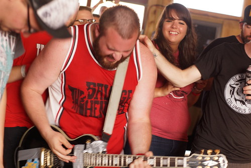 Random Orbits, Death to False Hope Fest, Motorco Garage, Durham NC, 06/30/12