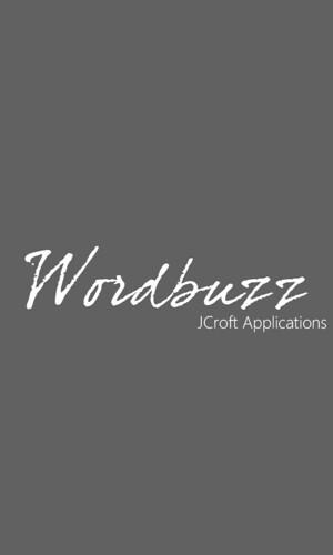 Wordbuzz (Windows Phone Update)