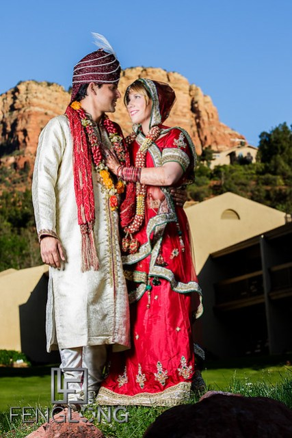 Ashley & Gaurav's Hindu Indian Wedding | Poco Diablo Resort | Sedona Arizona Destination Wedding Photographer