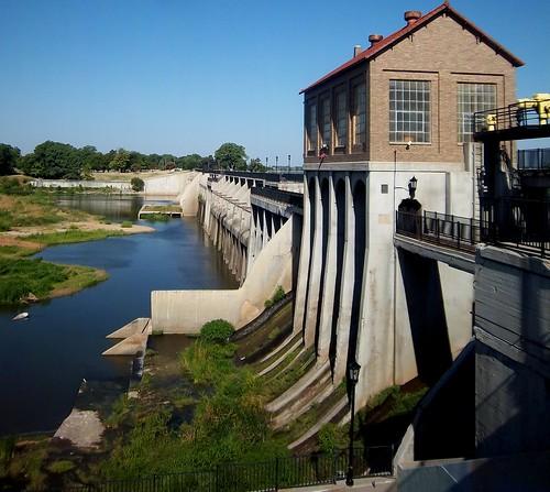 Lake Overholser dam