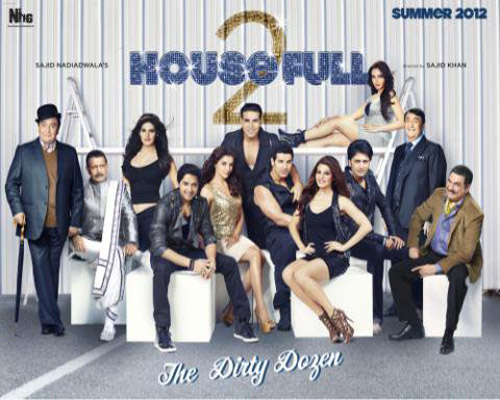 Housefull 2 The Dirty Dozen: Comedia de Bollywood