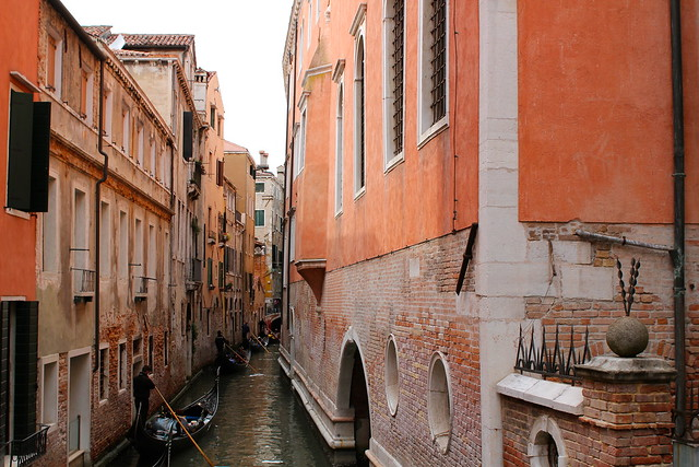 Wednesday: Beautiful canals in Venice