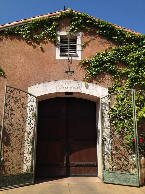Cute building and gate, Viansa Winery