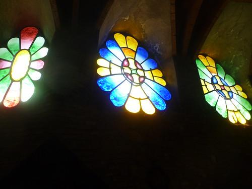Finestra Cripta Guell