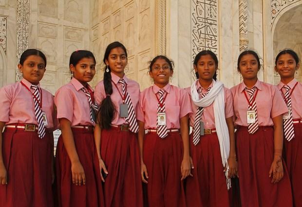 Maybe Uniforms, Certainly No Uniformity / Taj Mahal, Agra, India (2012)