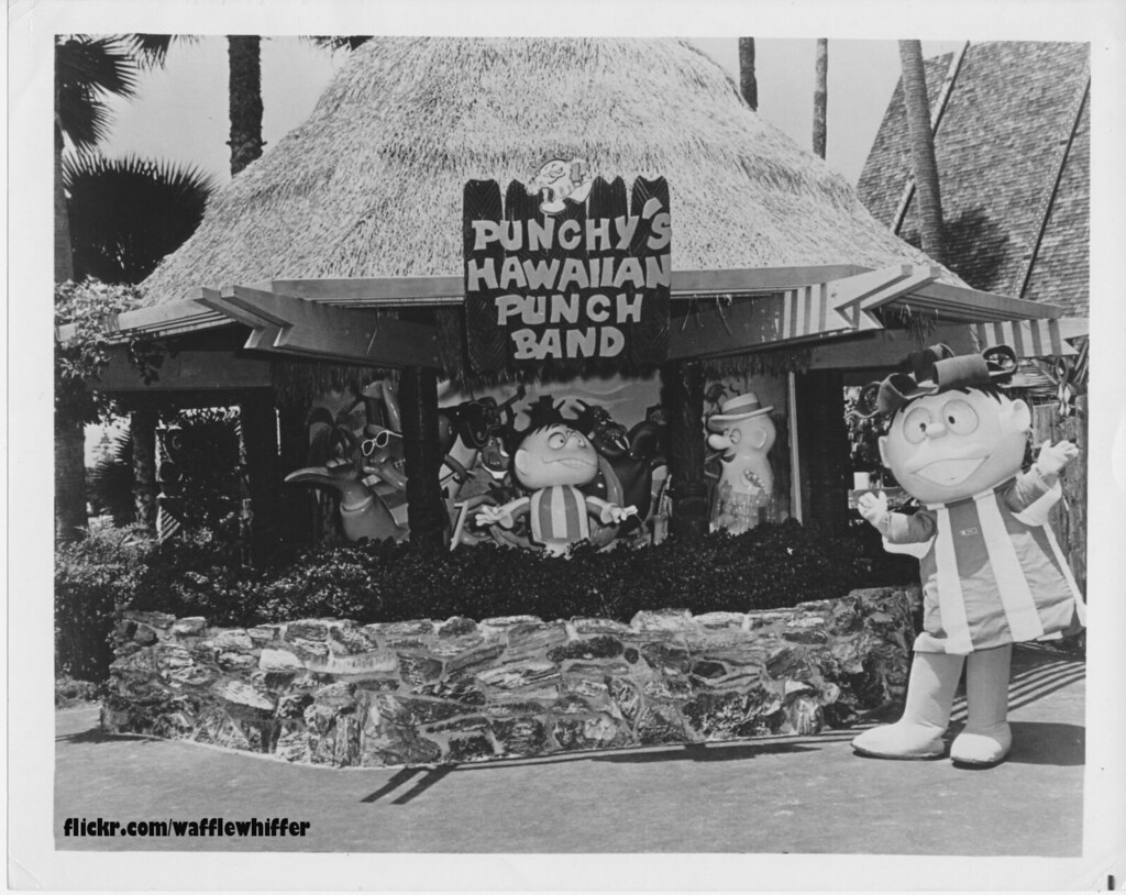 Hawaiian Punch - Sea World - 1970s