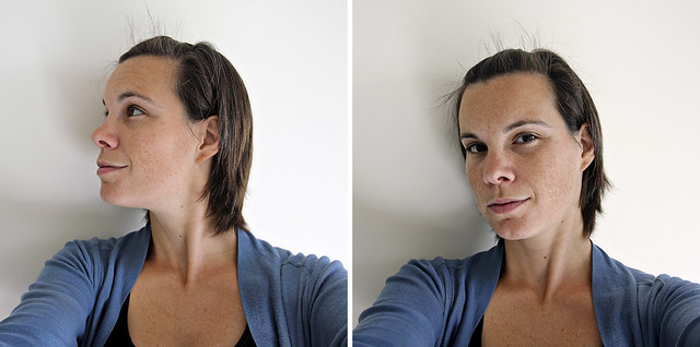 before the haircut