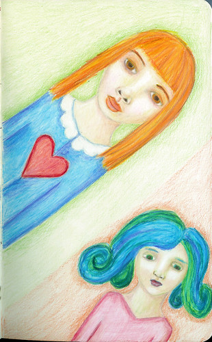 Ginger and Blue