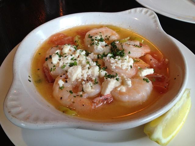 Feta prawns - Tuba Restaurant and Grill