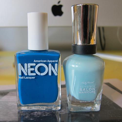 Neon Blue & Barracuda