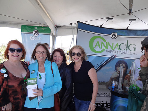 NORML Women's Alliance - 2012 High Times Cannabis Cup - CANNAcig By RFMK Booth - Cheryl Shuman by CherylShumanInc