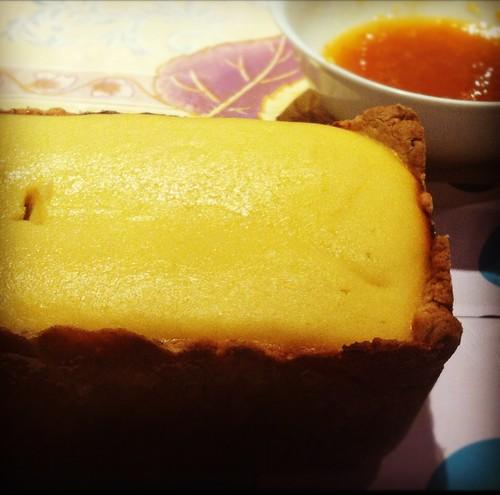 tarta de queso ricotta