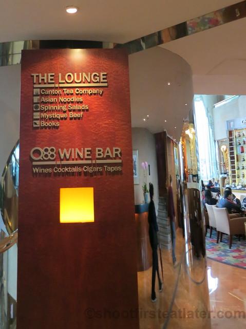 Afternoon Tea @ The Lounge, JW Marriott Hong Kong