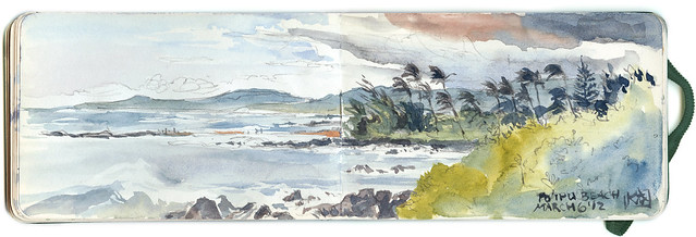 Sketchbook ~Poipu Beach 2