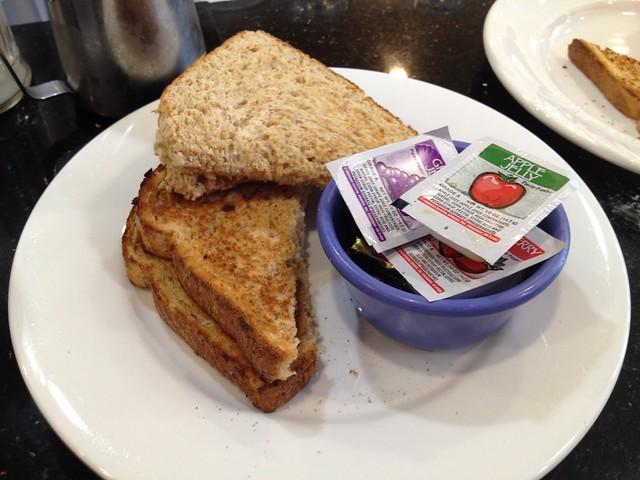 Wheat toast - Red Cafe