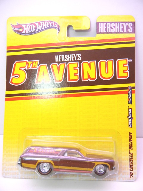 hot wheels nostalgia hersheys 5th avenue '70 chevelle delivery (1)