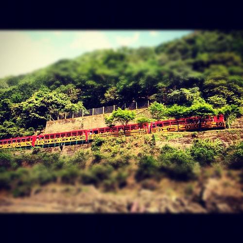 #Sagano Scenic #Railway Along the #HozuRiver in #kyoto