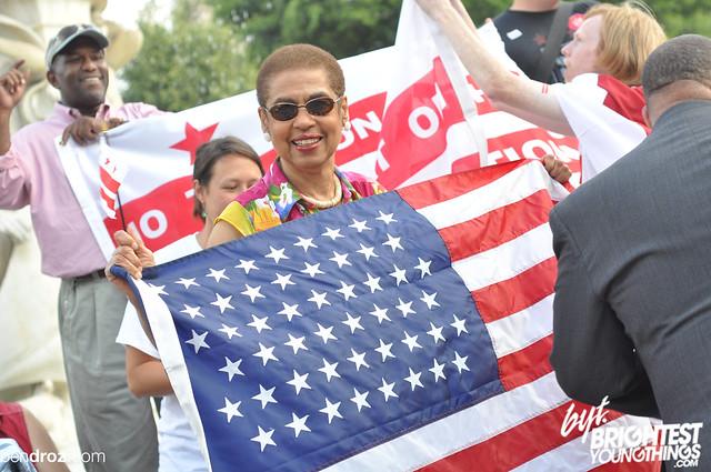 DC Flag Day BYT 70Ben Droz