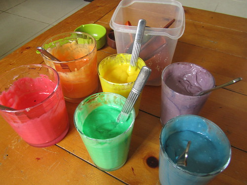 Rainbow Baking!