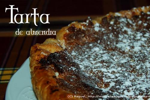 tarta de almendra