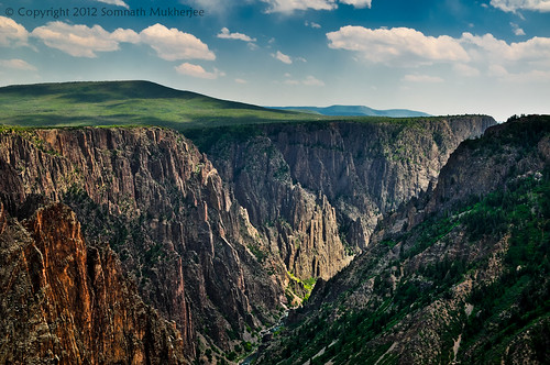 A view from Tomichi Point | Black Canyon of the Gunnison National Park, CO | May 2012 by Somnath Mukherjee Photoghaphy