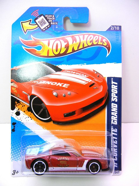 hot wheels '11 corvette grand sport burgundy (1)