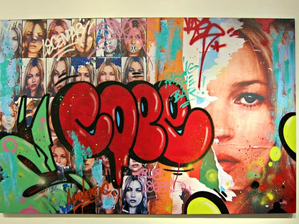 Street Artists Unite!, at Dorian Grey: Cope2