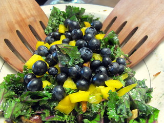 Blueberry Kale Salad