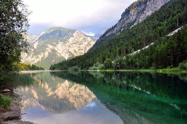 Plansee by Reutte, Tirol