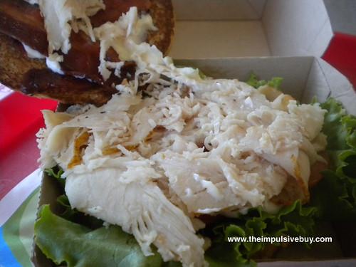 Arby's Grand Turkey Club Turkey Roaster Turkey Closeup