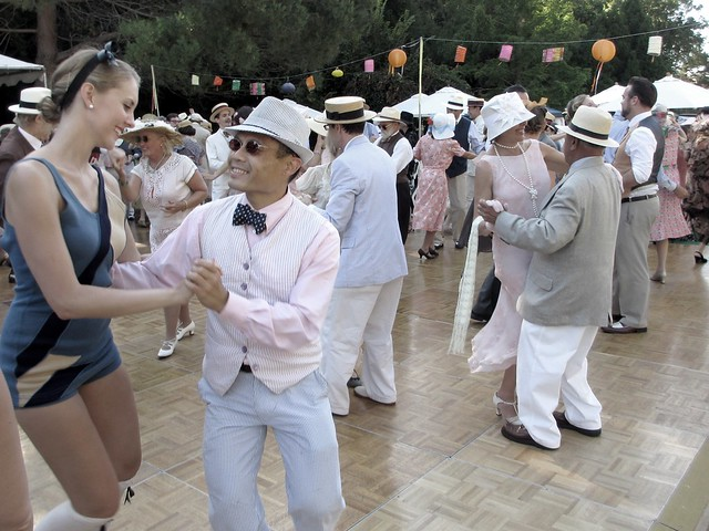 Dancing at the Gatsby Summer Afternoon.