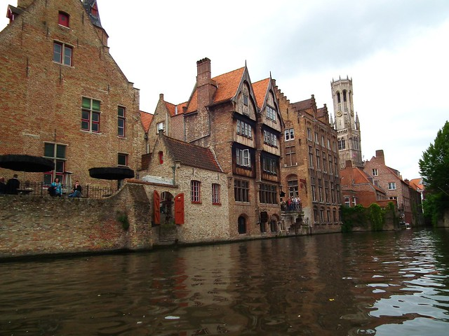 Canal boat tour - Bruges, Belgium