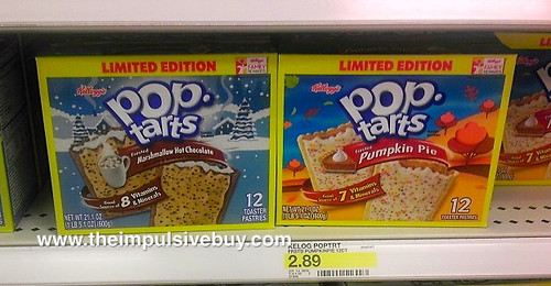 Limited Edition Pop-Tarts