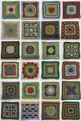 2012 BAMCAL - January to September with extras (24 squares)