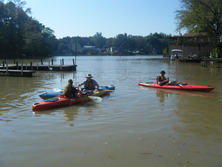 Setting Out on Lake Saluda