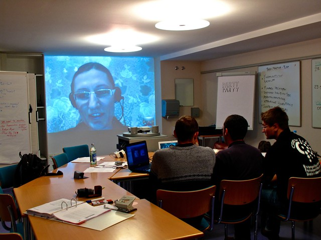 Skype Conference with Karolina Wysoka in Warsaw