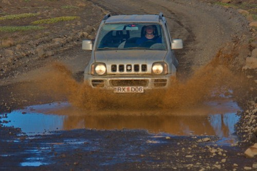 Mud-Racing on F35 Route