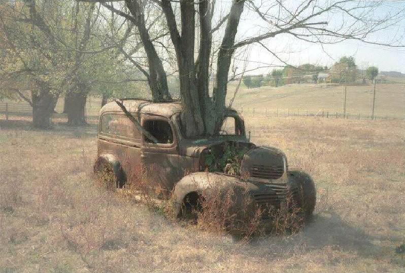 Φθινοπωρνό αυτοκίνητο