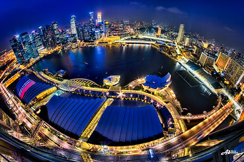 Bird's Eye of Singapore by Scholesville